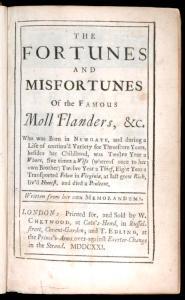 Moll Flanders: leia o título e saiba como tudo termina!
