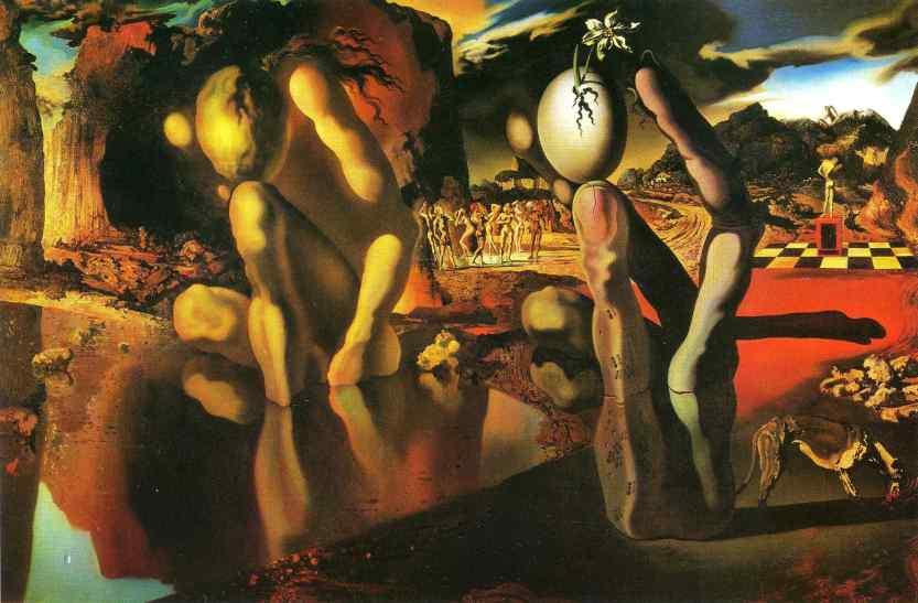 A Metamorfose de Narciso, de Salvador Dalí
