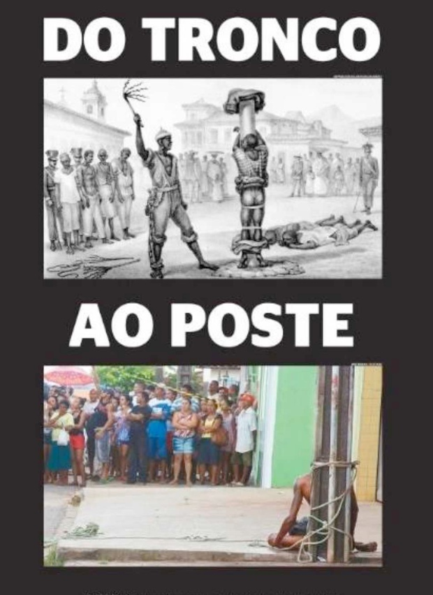 Capa do jornal Extra para o linchamento do Maranhão em junho de 2015.
