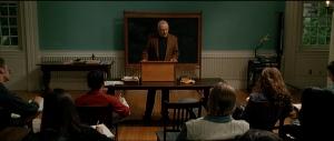 Cena da adaptação para cinema de A Marca Humana (2003).