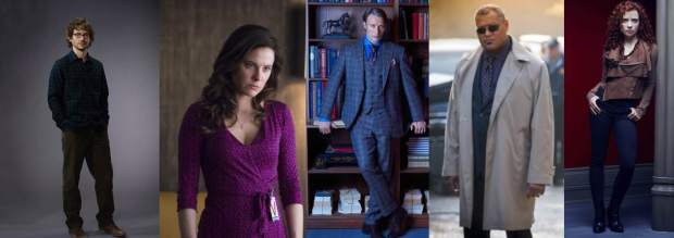 Will, o coringa. Alana, a maternal. Hannibal, o esteta. Jack, a fortaleza. Freddie, a agressiva.