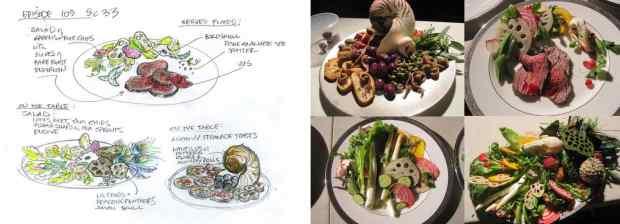 Comendo com os olhos. Um exemplo da linguagem gastronômica na série pela fotógrafa Janice Poon.