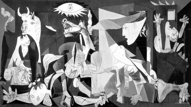1920x1080 picasso wallpaper guernica
