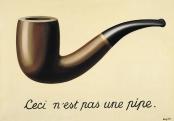 A Traição das Imagens, de René Magritte (1929).